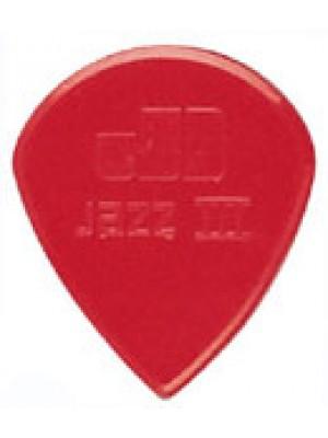 Dunlop Jazz 3XL Red nylon pick