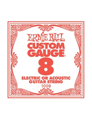 Ernie Ball .008 Plain String