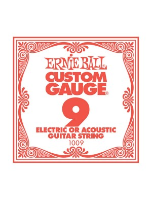 Ernie Ball .009 Plain String