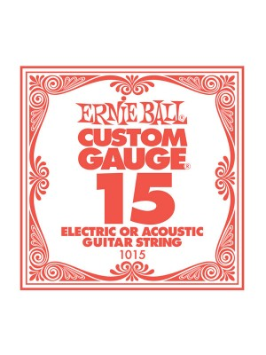Ernie Ball .015 Plain String