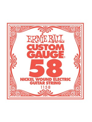 Ernie Ball .058w nickle string