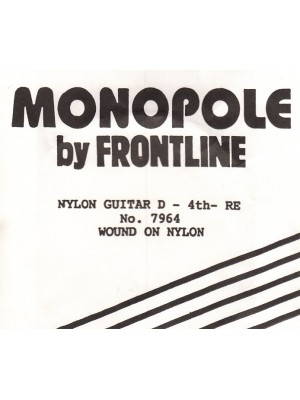 Monopole nylon 4th String