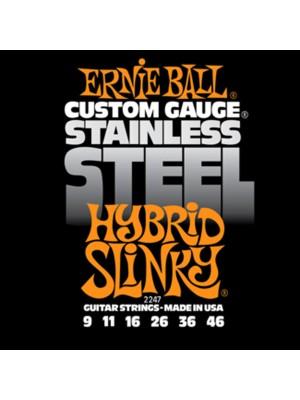 E.Ball S/Steel Hyb Slinky 9-46