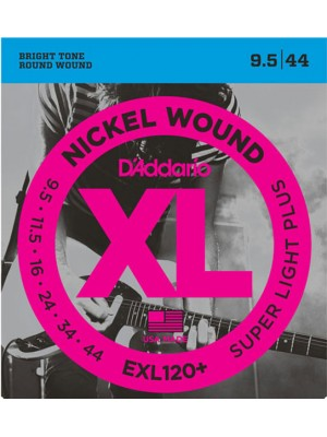 D'Addario EXL120+     9.5-44