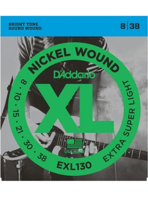 D'Addario EXL130 X-Light  8-38