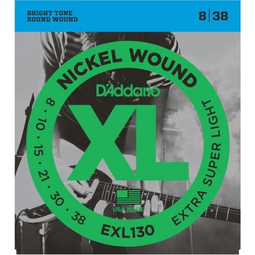 D'Addario EXL130 X-Light  8-38