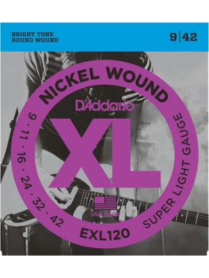 D'Addario EXL120 Light    9-42