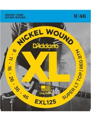 D'Addario EXL125 Super Reg9-46