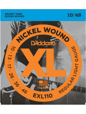D'Addario EXL110 Regular 10-46