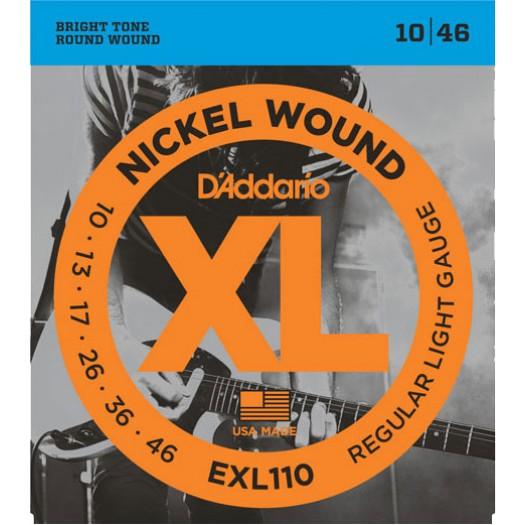 D'Addario EXL110 Regular 10-46