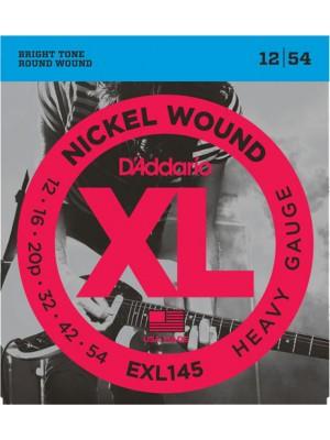 D'Addario EXL145 heavy 12-54