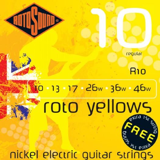 Roto Yellows R10         10-46