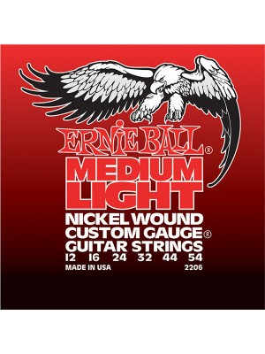 Ernie Ball nickle MLt    12-54