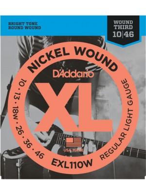D'Addario EXL110W reg 10-46