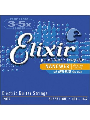 Elixir Electric NanoWeb 9-42