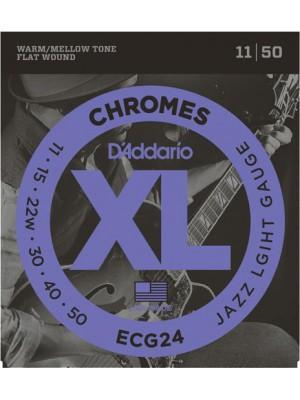 D'Addario CG24 Chrome Jz 11-50
