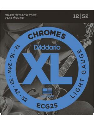D'Addario CG25 Chrome Lt 12-52