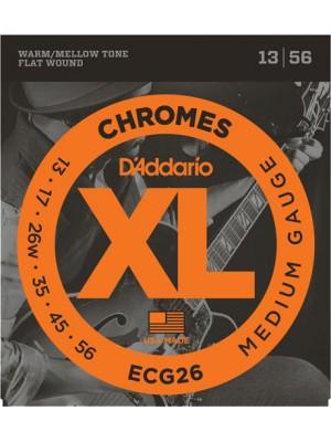 D'Addario CG26 Chrom med 13-56