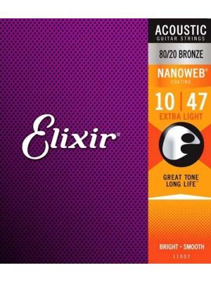 Elixir Acoustic NanoWeb 10-47