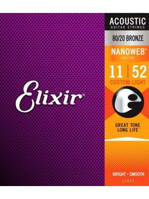 Elixir Acoustic NanoWeb 11-52