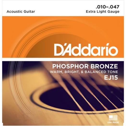 D'Addario EJ15 phos XLt  10-47