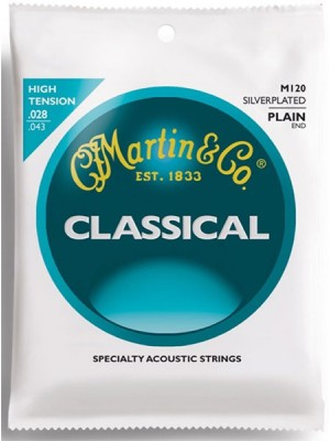Martin M120 Clear nylon set
