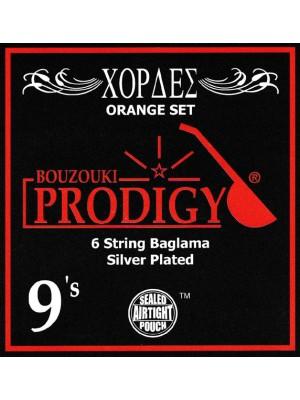 Prodigy Orange Baglama Strings