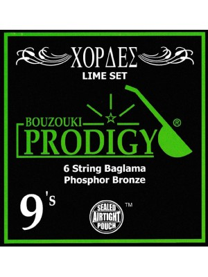 Prodigy Lime Baglama Strings
