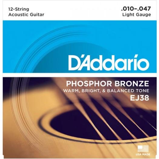 D'Addario EJ38 12st Lt 10-47