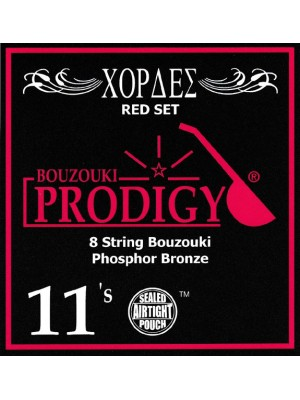 Prodigy Red Bouzouki Strings