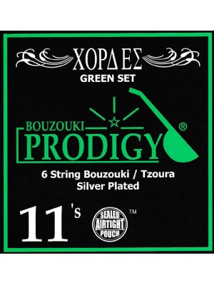 Prodigy Green Tzoura Strings