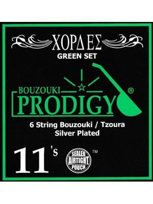 Prodigy Green Tzoura Strings