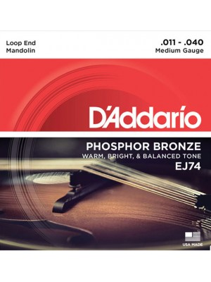 D'Addario EJ74 Mandolin 11-40