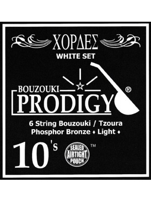 Prodigy White Tzoura Strings