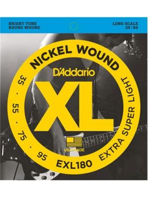 D'Addario EXL180 ni Bass 35-95