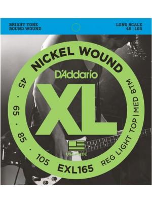 D'Addario EXL165 ni Bass45-105