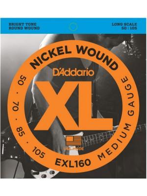 D'Addario EXL160 ni Bass50-105