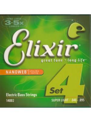 Elixir Nanoweb Bass 40-95