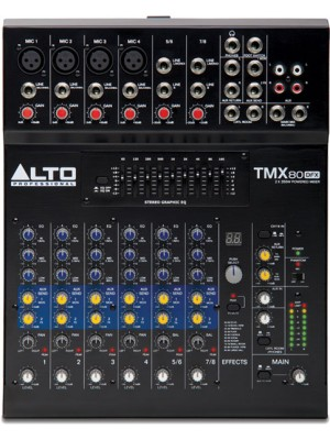 Alto TMX80 Mixer Amplifier
