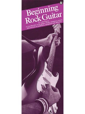 Beginning Rock Guitar case bk