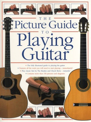 Picture guide to play guitar