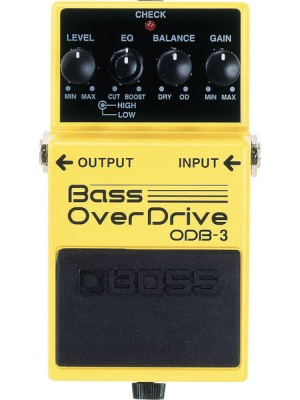 Boss ODB-3 Bass Overdrive Pdl