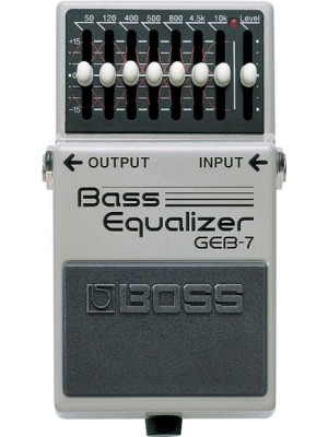 Boss GEB-7 Bass Graphic Pedal