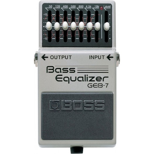 Boss GEB-7 Bass Graphic Pedal