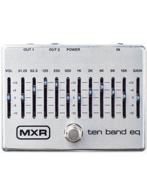 MXR 10 band Graphic EQ pedal