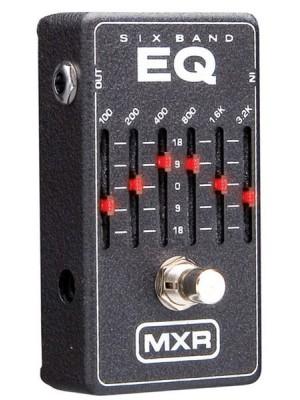 MXR 6 Band Graphic EQ Pedal