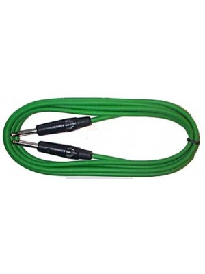Piranha 3m Jack lead Green