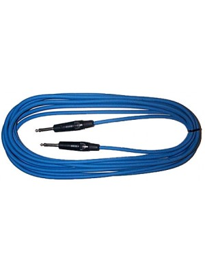 Piranha 6m Jack lead Blue
