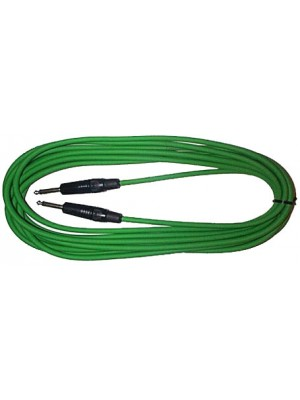 Piranha 6m Jack lead Green