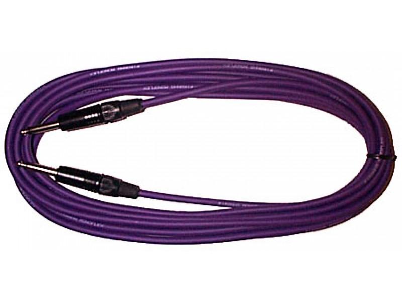 Black 5 x Guitar Lead 6.35mm Mono Jack to Jack Instrument Cable